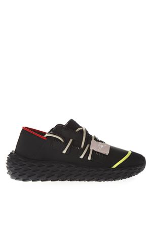 URCHIN RUBBERIZED LEATHER SNEAKERS SS 2019 GIUSEPPE ZANOTTI | 55 | RS90028C80412NR+NRO003