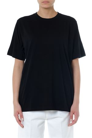 T SHIRT OVERSIZE IN COTONE NERO PE 2019 GOLDEN GOOSE DELUXE BRAND | 15 | G34WP1261M10