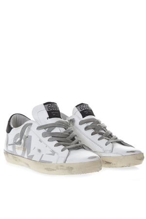 WHITE SNEAKERS LOVE PRINT IN LEATHER SS 2019 GOLDEN GOOSE DELUXE BRAND | 55 | G34WS5901O51
