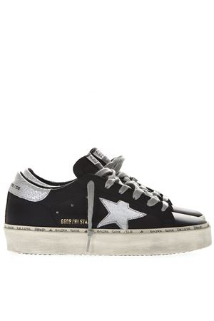 HI STAR BLACK LEATHER SNEAKERS SS19 GOLDEN GOOSE DELUXE BRAND | 55 | G34WS9451B9