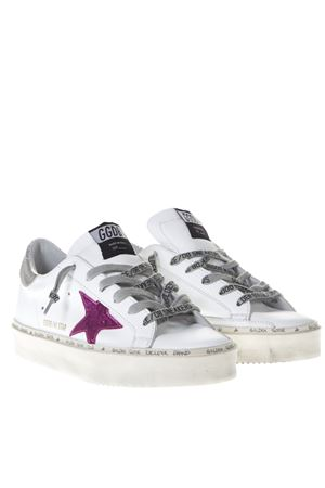 ICONICA SNEAKERS SUPER STAR BIANCHE IN PELLE PE 2019 GOLDEN GOOSE DELUXE BRAND | 55 | G34WS9451F8
