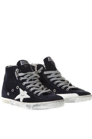 SNEAKERS SUPERSTAR BLU IN CAMOSCIO PE19 GOLDEN GOOSE DELUXE BRAND | 55 | GCOWS5911N2
