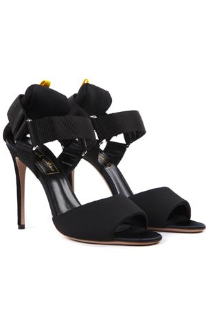 BLACK LYCRA SANDALS SS 2019 GOOD VIBES | 87 | GV070LYCRANERO