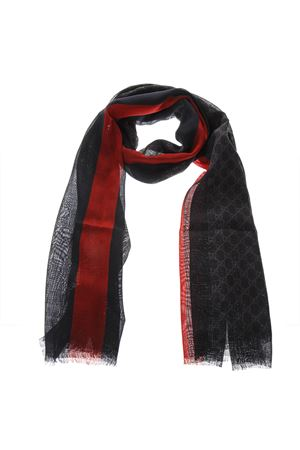 BLACK WOOL ALL OVER GG SCARF SS 2019 GUCCI | 20 | 4979154G2001074
