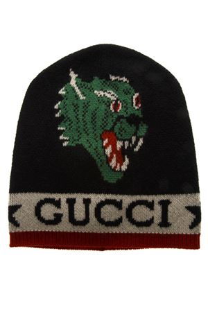 BLACK HAT WITH PANTHER AND KINGSNAKE SS 2019 GUCCI | 17 | 5475124G2061074