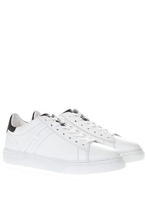 WHITE LEATHER H365 SNEAKERS SS 2019 HOGAN | 55 | HXM3650J960KFN0001