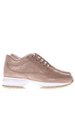 PINK SNEAKERS INTERACTIVE IN LEATHER SS 2019 HOGAN | 55 | HXW00N00E30KAYM013