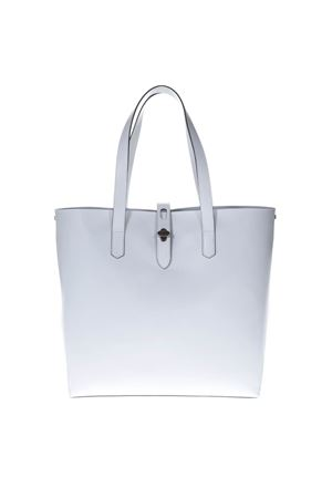 WHITE SHOPPING BAG IN LEATHER SS 2019 HOGAN | 2 | KBW010A1400J60B001