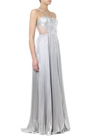 MAXE SILVER COTTON MIXED DRESS SS 2019 Iris | 32 | FOREUNIAS SAMPLE