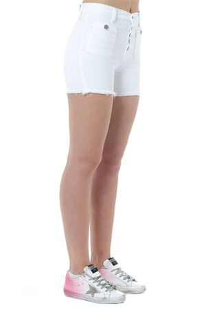 WHITE COTTON FRINGED SHORTS SS19 J BRAND | 110000034 | JB002060J9WHITE