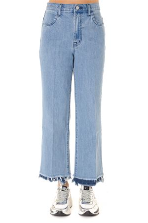 CROPPED JEANS IN LIGHT BLUE DENIM SS 2019 J BRAND | 4 | JB002161J4824TROUPE