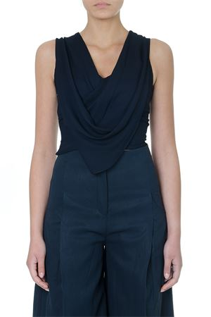 TOP BLU NAVY IN VISCOSA PE19 JACQUEMUS | 13 | 191TO03-19107390NAVY
