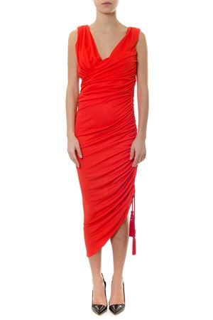 POPPY COLOURED JERSEY DRESS SS 2019 LANVIN | 21 | RW-DR356J-2186137