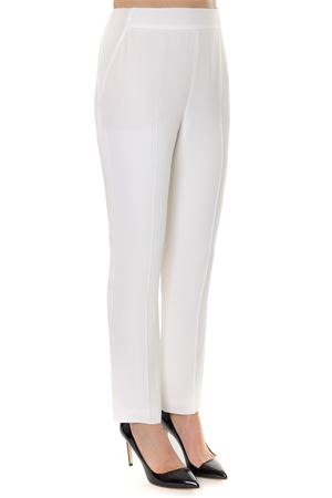 CREAM SATIN TAILORED TROUSERS SS 2019 LANVIN | 8 | RW-TR520U-40851021