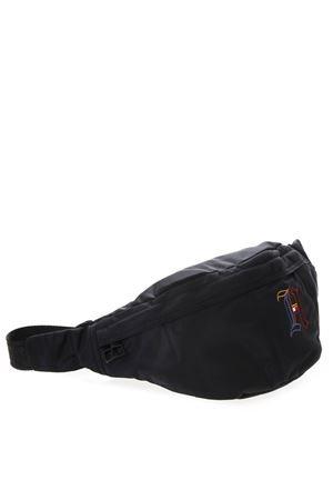 BLACK NYLON MONOGRAM BELT BAG SS19 TOMMY HILFIGER   2   AM0AM045841002