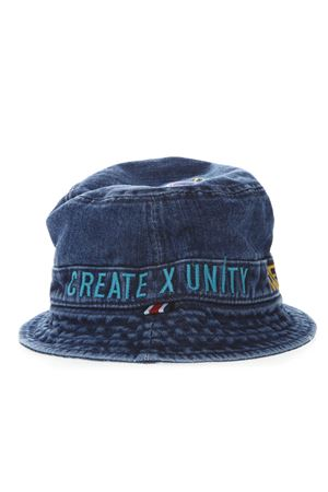 BLUE DENIM COTTON HAT SS 19 TOMMY HILFIGER | 17 | AM0AM047451901