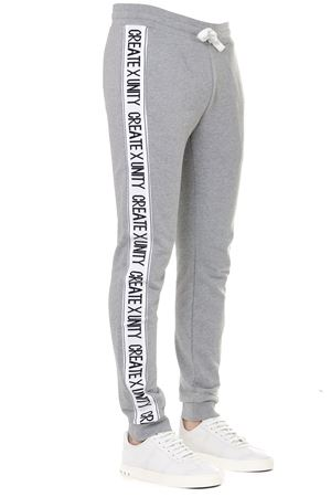 GREY COTTON JOGGING PANTS WITH SIDE STRIPES SS 2019 TOMMY HILFIGER | 8 | MW0MW093931501