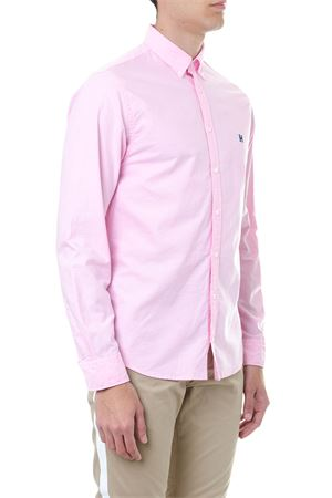 CAMICIA BUTTON DOWN IN COTONE ROSA PE 2019 TOMMY HILFIGER | 9 | MW0MW093981667