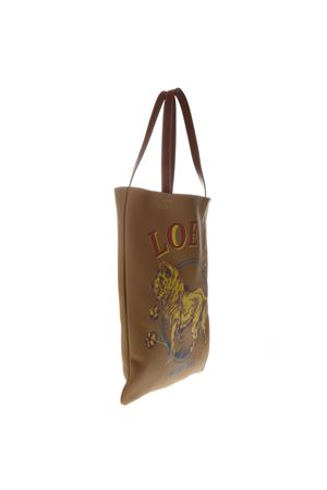 TOTE LION DESERT BAG IN LEATHER SS 2019 LOEWE | 2 | 31309R72VERTICAL2580