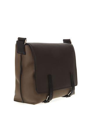 BROWN LEATHER MAN BAG SS19 LOEWE | 2 | 31612MN64MILITARY1655
