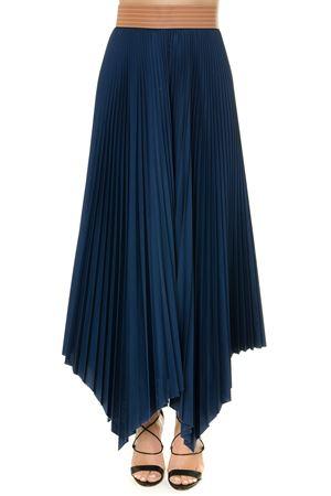 BLUE PLEATED COTTON SKIRT SS19 LOEWE | 26 | S2195080FA15110