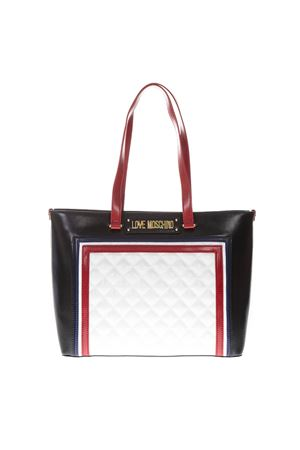 BORSA QUILTED PU MIX MULTICOLORE PE19 LOVE MOSCHINO | 2 | JC4013PP17LBUNI110A