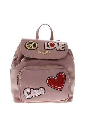 PINK FAUX LEATHER BACKPACK SS 2019 LOVE MOSCHINO | 183 | JC4082PP17LJUNI0600