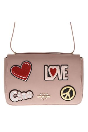 PINK FAUX LEATHER BAG SS 2019 LOVE MOSCHINO | 2 | JC4083PP17LJUNI0600