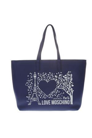 BORSA TOTE PARIS LOVE MOSCHINO BLU IN ECOPELLE PE 2019 LOVE MOSCHINO | 2 | JC4087PP17LK10750