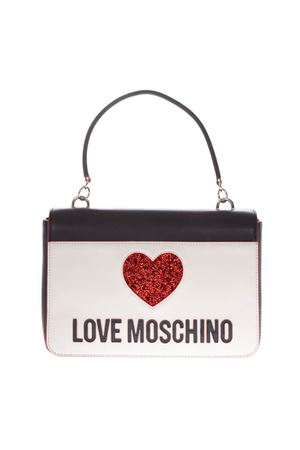 MULTICOLOR FAUX LEATHER BAG SS19 LOVE MOSCHINO | 2 | JC4115PP17L3UNI100A