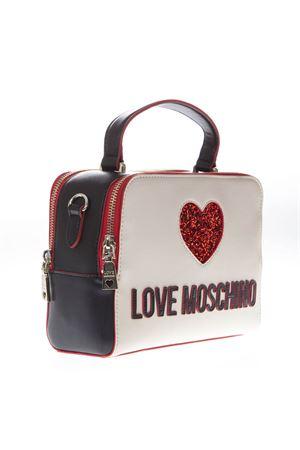 BORSA BICOLORE CON LOGO IN ECOPELLE PE19 LOVE MOSCHINO | 2 | JC4117PP17L3UNI100A