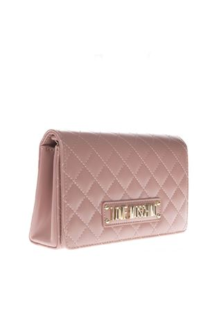 PINK FAUX LEATHER QUILTED BAG SS19 LOVE MOSCHINO | 2 | JC4118PP17LAUNI0600
