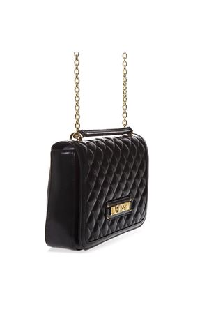 7c701826ded0 ... JC4200PP07KAUNI0000 QUILTED BLACK FAUX LEATHER SHOULDER BAG SS 2019  LOVE MOSCHINO