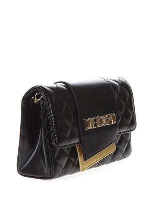 816836ee08b5 FRIDA BLACK FAUX LEATHER BAG SS19 - EMPORIO ARMANI - Boutique Galiano