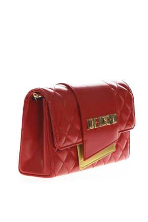 2e86c5d4ee RED FAUX LEATHER SHOULDER BAG SS 2019 - LOVE MOSCHINO - Boutique Galiano