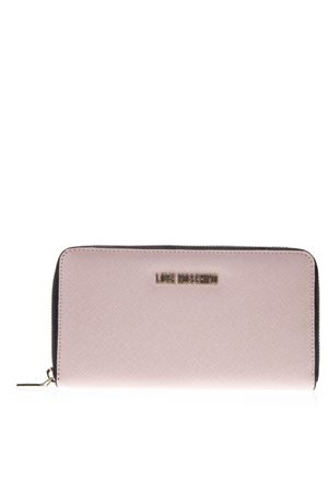 PINK FAUX LEATHER WALLET SS19 LOVE MOSCHINO | 34 | JC5552PP06LQUNI0600