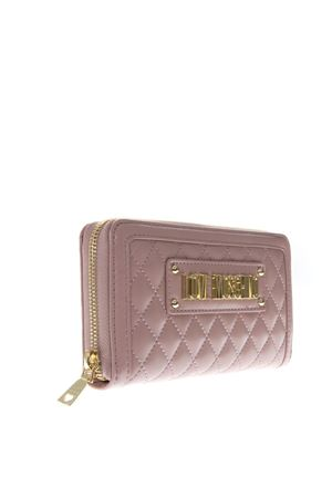 PINK FAUX LEATHER WALLET SS19 LOVE MOSCHINO | 34 | JC5612PP17LAUNI0600