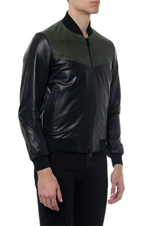 BLACK LEATHER BOMBER SS 2019 LOW BRAND | 27 | L1JSS1934371D001