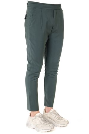 SLIM TROUSERS IN THYME COTTON SS 2019 LOW BRAND | 8 | L1PSS1934331V046