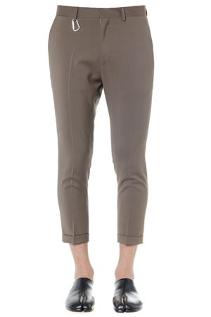 LIGHT BROWN WOOL CROPPED PANTS SS19 LOW BRAND | 8 | L1PSS1934481M067