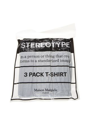DIAMOND 3 PACK MULTICOLOR COTTON T-SHIRT SS19 MAISON MARGIELA | 15 | S30GC0652S23414001S
