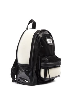 BLACK AND WHITE LEATHER BACKPACK SS 2019 MAISON MARGIELA | 2 | S35WB0024P2391H5294
