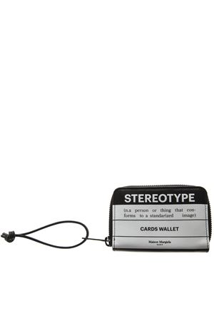 STEREOTYPE TWO COLOR LEATHER CARDHOLDER SS19 MAISON MARGIELA | 34 | S55UI0190P0047H1532