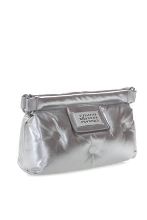 SILVER RED CARPET GLAM SLAM BAG IN QUILTED LEATHER SS 2019 MAISON MARGIELA | 2 | S56WF0083PR200T9002
