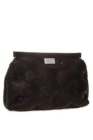 LARGE GLAM SLAM BLACK LEATHER BAG SS 2019 MAISON MARGIELA | 2 | S61WG0030PR818T8013