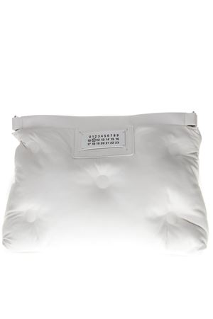 WHITE SMALL SLAM GLAM BAG WITH SHOULDER SS 2019 MAISON MARGIELA | 2 | S61WG0032PR818T1003