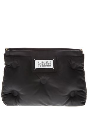 BLACK SMALL SLAM GLAM BAG WITH SHOULDER SS 2019 MAISON MARGIELA | 2 | S61WG0032PR818T8013