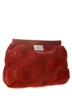 MEDIUM GLAM SLAM RED QUILTED LEATHER BAG SS 2019 MAISON MARGIELA | 2 | S61WG0034PR818T4327