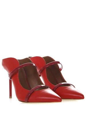 MAUREEN RED LEATHER PUMPS SS19 MALONE SOULIERS | 68 | MAUREEN LUWOLT100RED/BURGUNDY
