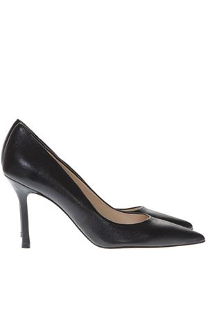 BLACK LEATHER PUMPS SS19 MARC ELLIS | 68 | MA5002VEGASNERO